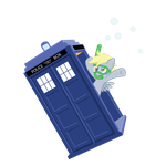 Bubbly-Wubbly Herpy-Derpy (TARDIS-Only Vector) by Ethaes