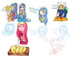 AT: Sketch and doodles dump by LifelsPain