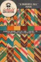 A Colourful Fall Papers by Whimsical-Adventure