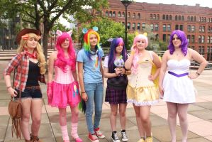 BUCK 2013: Mane Six Cosplay! by mBrooksBrony