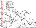 January 2014 Livestream Commission Sketch 10 by lady-cybercat