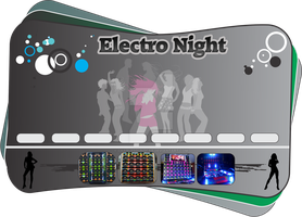 Flyer Electro Night by CHARLESOUNDcar