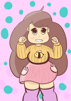 bee 3 Bee and Puppycat by Moonlikestea