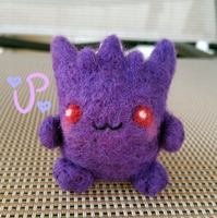 Gengar Plush Keychain FOR SALE by UltraPancake