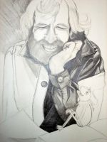 Jim Henson WIP by jdrainville