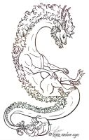 Eastern Dragon No. 14 by Ember-Eyes