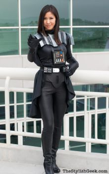 Lady Vader Cosplay by milkchess