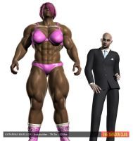 Katarina Mueller - bodybuilder - 7ft 2ins - 320lbs by theamazonclub
