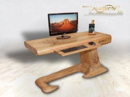 Lizard desk ses 3 by Awadon111