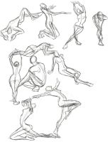 A Year of Gesture Drawing: 030/365 by TommyOliverDraws