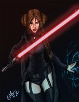 Leia Vader by Alazoso