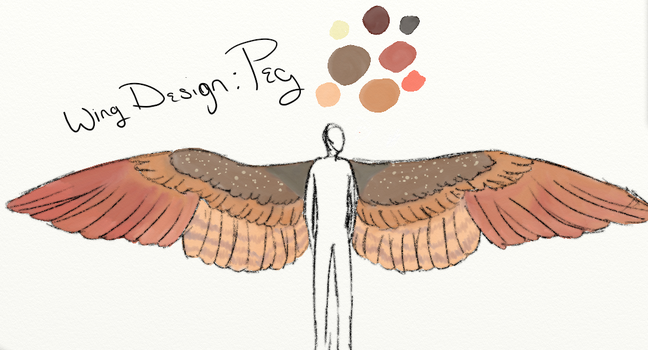 Peggy Rogers-Barnes Official Wing Design by ArtfulDodger112