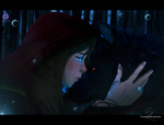 The Fairy and the Wolf by Venetia-TH
