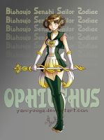 Sailor Zodiac Ophiuchus by yamiyuuga