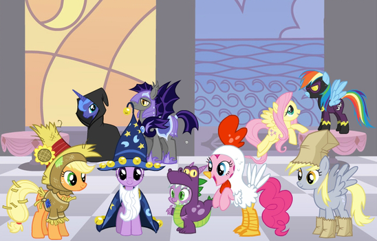 Halloween Party by MLPMan