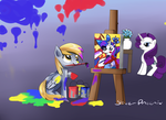 Derpy and art by Incinerater