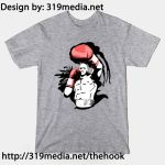 Boxing - The Hook T-shirt Design by Sabretooth
