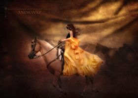 Princess of horses by ANDRAVAZ