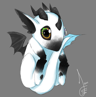 Baby Dragon Asuri by Choco3va