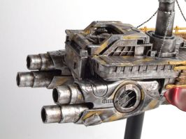 Space Ship Detail Shot by LVS-models
