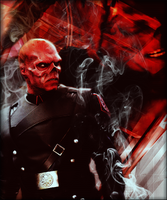 Red Skull by wild-kard2003