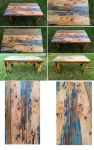 Resin Infused Table by IkaikaDesign