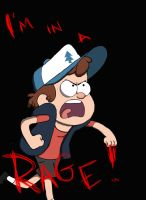 Welovefine Entry - Dipper: IM IN A RAGE by TheNuggetApparatus