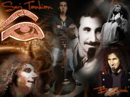 Serj's Collage by Zeerooh