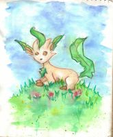 Leafeon by superfreak333