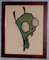 Gir Counted Cross Stitch by chibi22