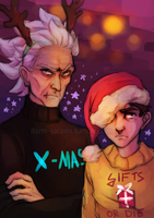 MERRY FUCKIN CHRISTMAS by itami-salami