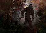 October: Bigfoot by pyro-helfier