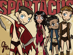 Spartacus team by bittersweet-gin