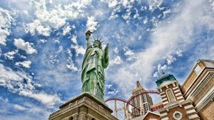 new york the statue of liberty by Morgadu