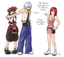 :KH: Possessive by kitsune-nilde