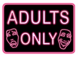 Adults Only logo for web series by DustinEvans