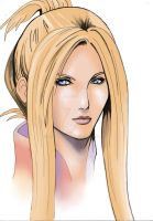 Quistis Trepe from Final Fantasy VIII by MT-Artwork