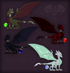 TLoS - Cynder as her Elements by DragonOfIceAndFire