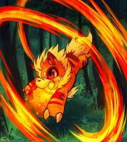 Cinder used Flame Wheel by Haychel