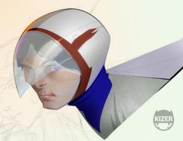 GatchaMan guy by CoranKizerStone