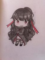 Chibi azami by Twinsy-Art