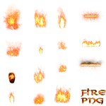 misc fire elements png by dbszabo1