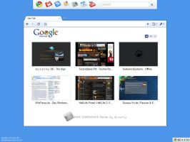 Google Chrome OS - Fakescreen by dj-corny