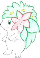 Shaymin by LizardonEievui13