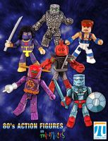 80's Action Figures as Minimates by luke314pi