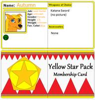 Autumns Membership card by AutumnMiracles