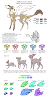 | Ribbondeer Ref Sheet | by Hatonni