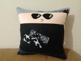 Handmade Avenged Sevenfold M Shadows Pillow by RbitencourtUSA