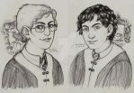 Commissions - Florian and Sebastian by Mariey