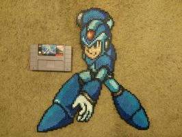 Mega Man X by 8bitsofawesome